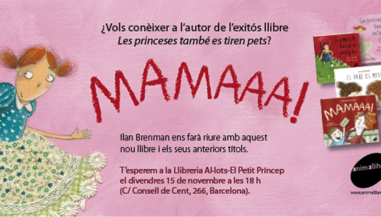 L'autor de Les princeses també es tiren pets visita Barcelona