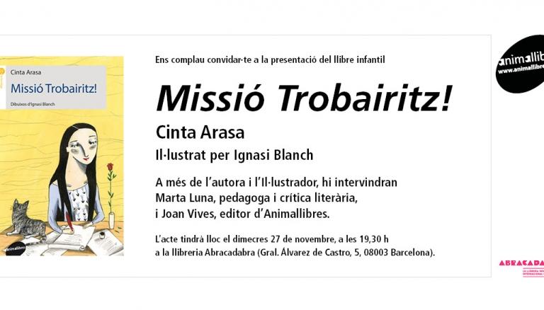 Es presenta Missió Trobairitz! a la llibreria Abracadabra