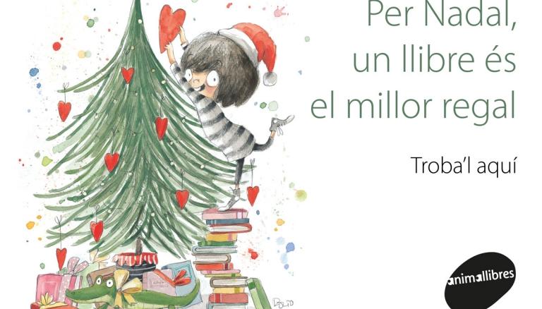 Regala les millors lectures aquest Nadal amb Animallibres!