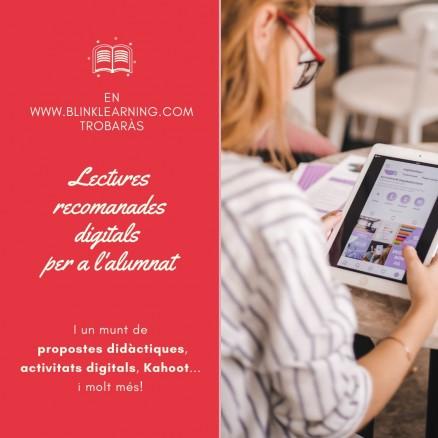 Llibres digitals perquè l'alumnat treballi la lectura des de casa