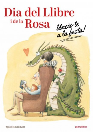 Celebra el Dia del Llibre i de la Rosa!