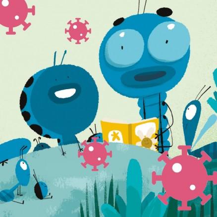 Com ensenyar als més petits a protegir-se dels virus?