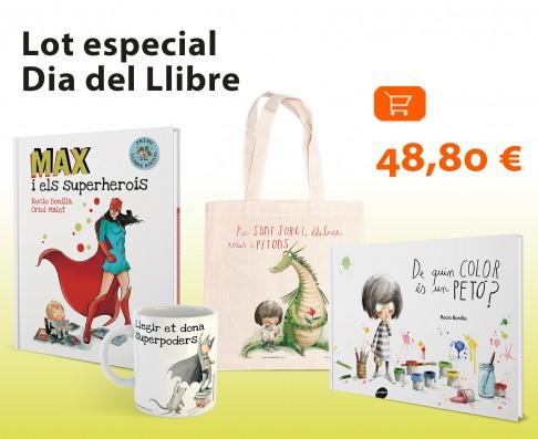 Lot especial Dia del Llibre: 2 llibres + bossa + tassa