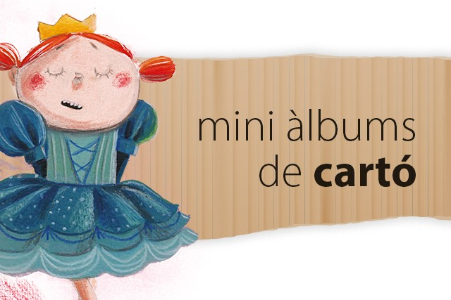 Mini àlbums de cartó